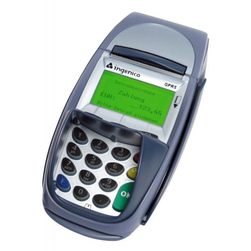 Ingenico 7910 Credit Card Machine
