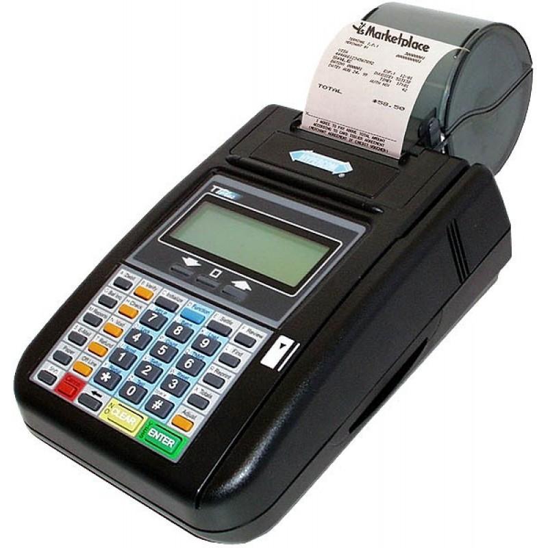 Hypercom T7plus Credit Card Machine
