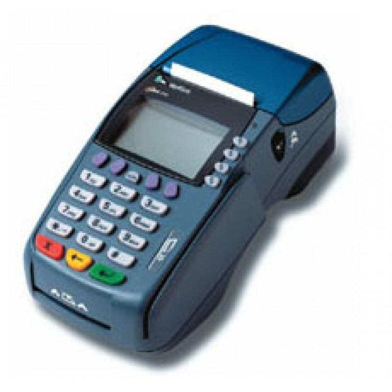 Verifone 3750 Dual Mode Credit Card Machine